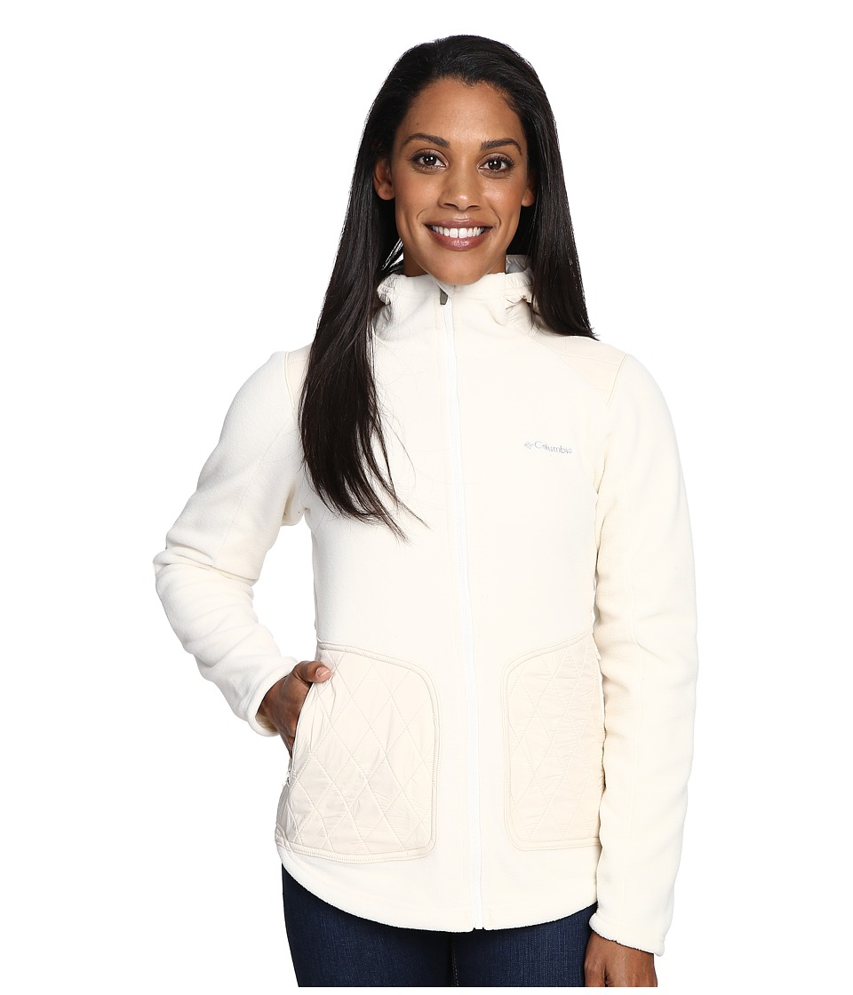Columbia - Angels Crest Jacket (Chalk) Women's Coat