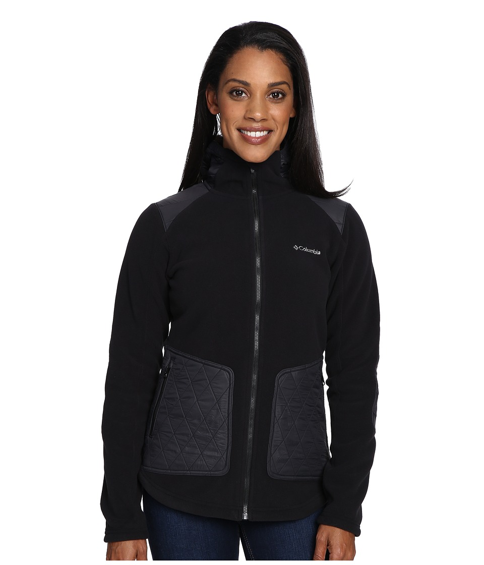 Columbia - Angels Crest Jacket (Black) Women's Coat