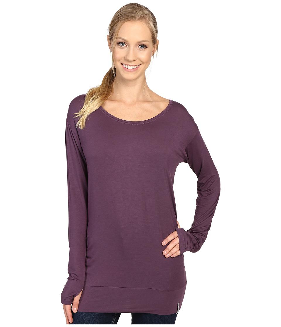 Columbia - Lumianation Long Sleeve Shirt (Dusty Purple) Women's Long Sleeve Pullover