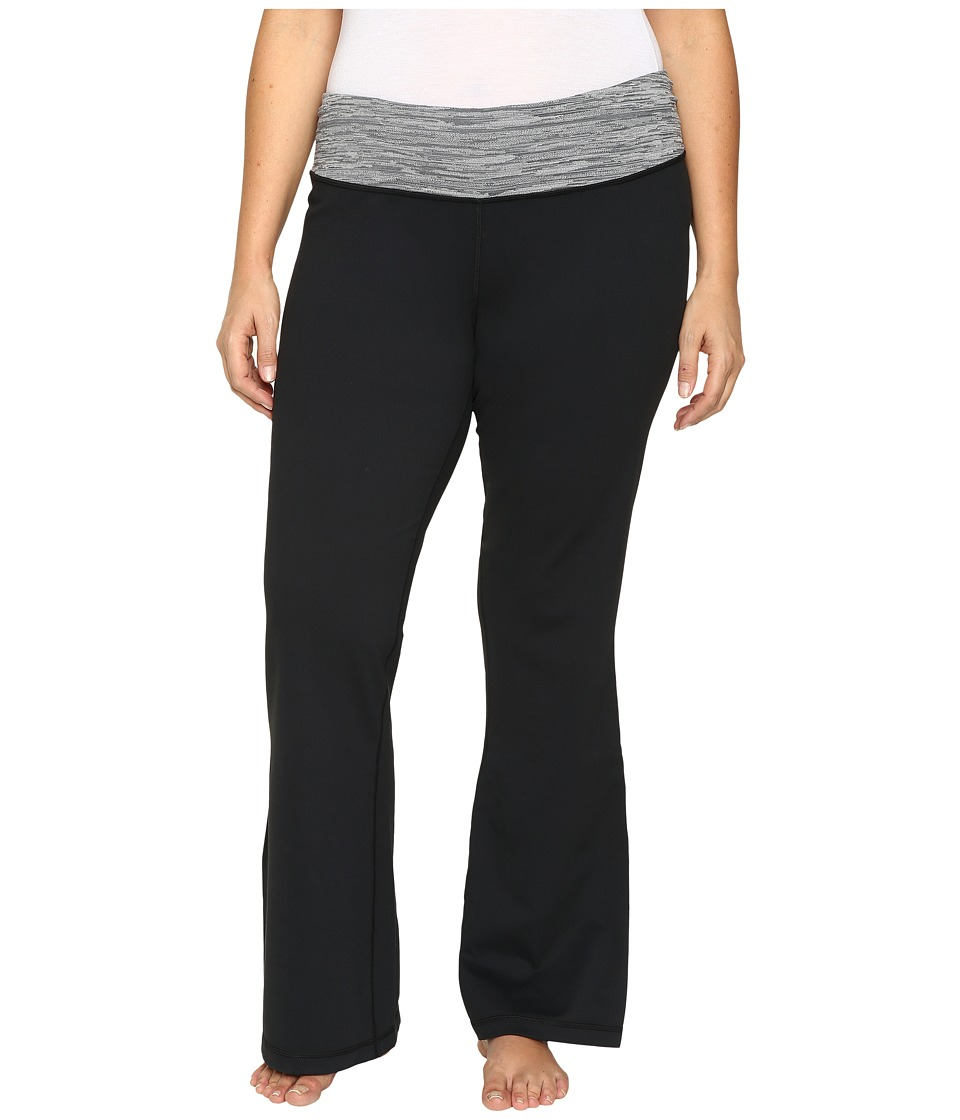 Columbia - Plus Size Luminescence Boot Cut Pants (Black Jacquard) Women's Casual Pants