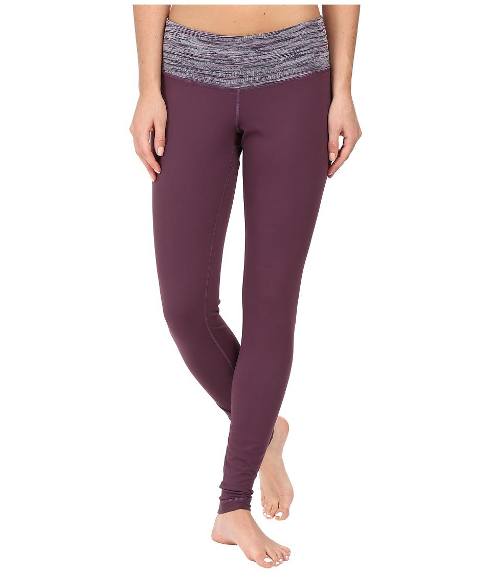 Columbia Luminescencetm Leggings (Dusty Purple/Dusty Purple Jacquard) Women