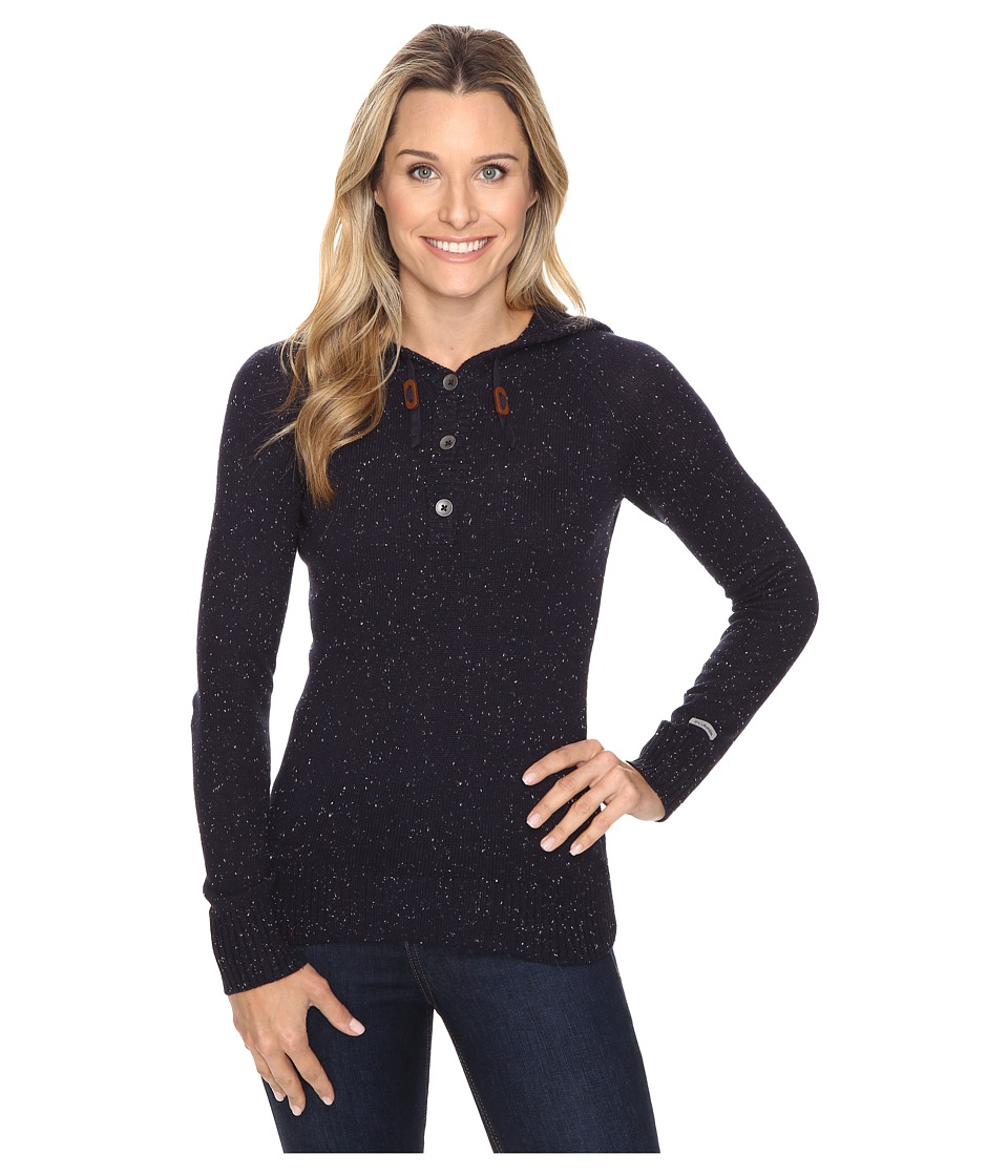 Columbia - Ice Drifter Sweater (Ebony Blue) Women's Sweater