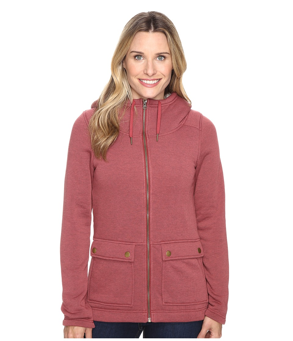 Columbia - Trail Lodge Fleece Full Zip (Marsala Red) Women's Coat