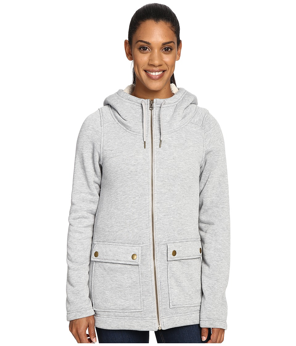Columbia - Trail Lodge Fleece Full Zip (Flint Grey Heather) Women's Coat