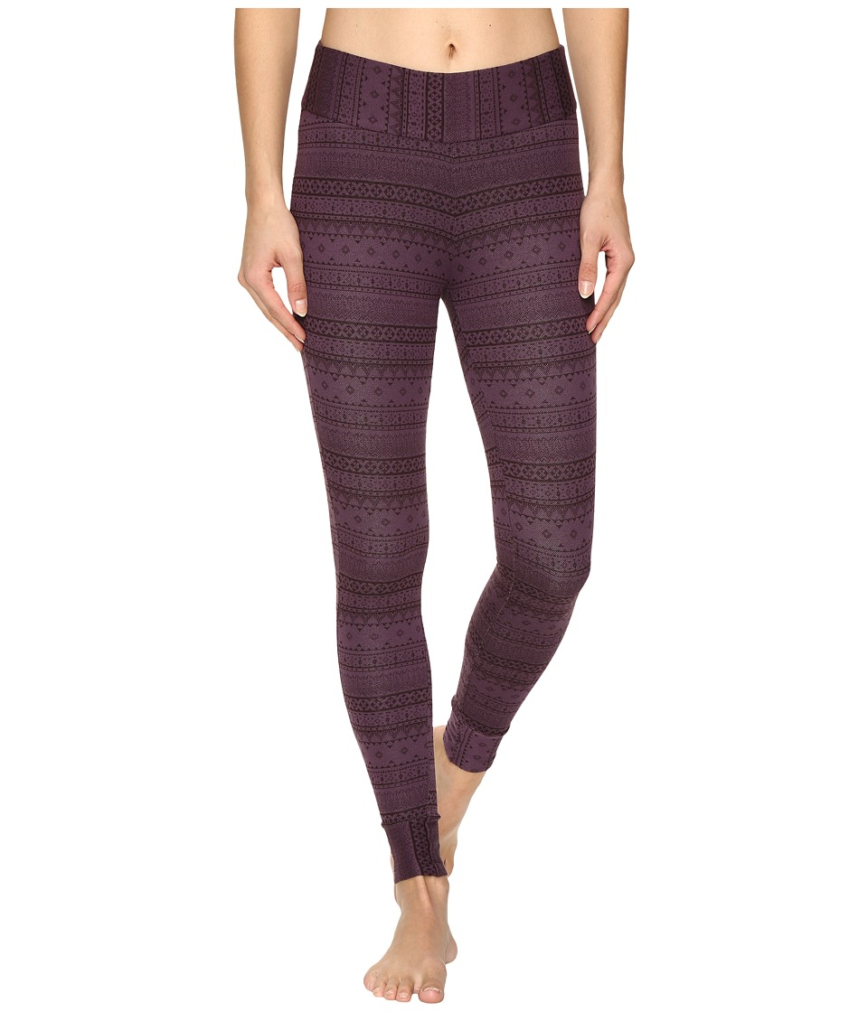 Columbia - Aspen Lodge Jacquard Leggings (Dusty Purple Jacquard) Women's Casual Pants