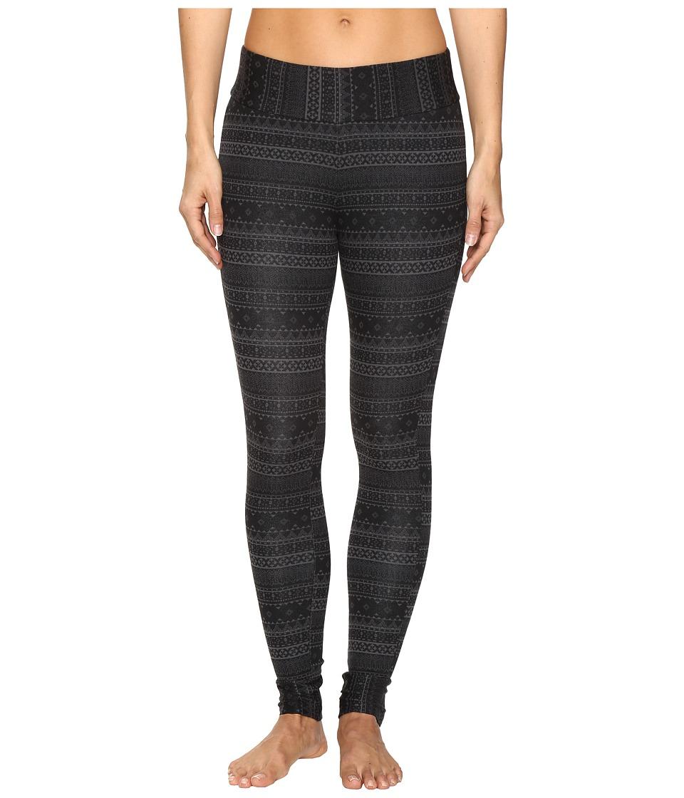 Columbia - Aspen Lodge Jacquard Leggings (Black Jacquard) Women's Casual Pants