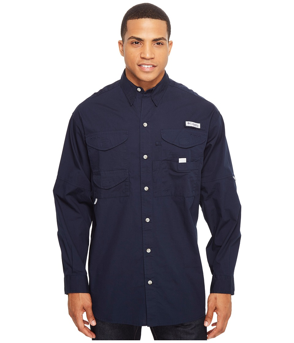 Columbia - Boneheadtm L/S Shirt (Collegiate Navy) Men's Long Sleeve Button Up
