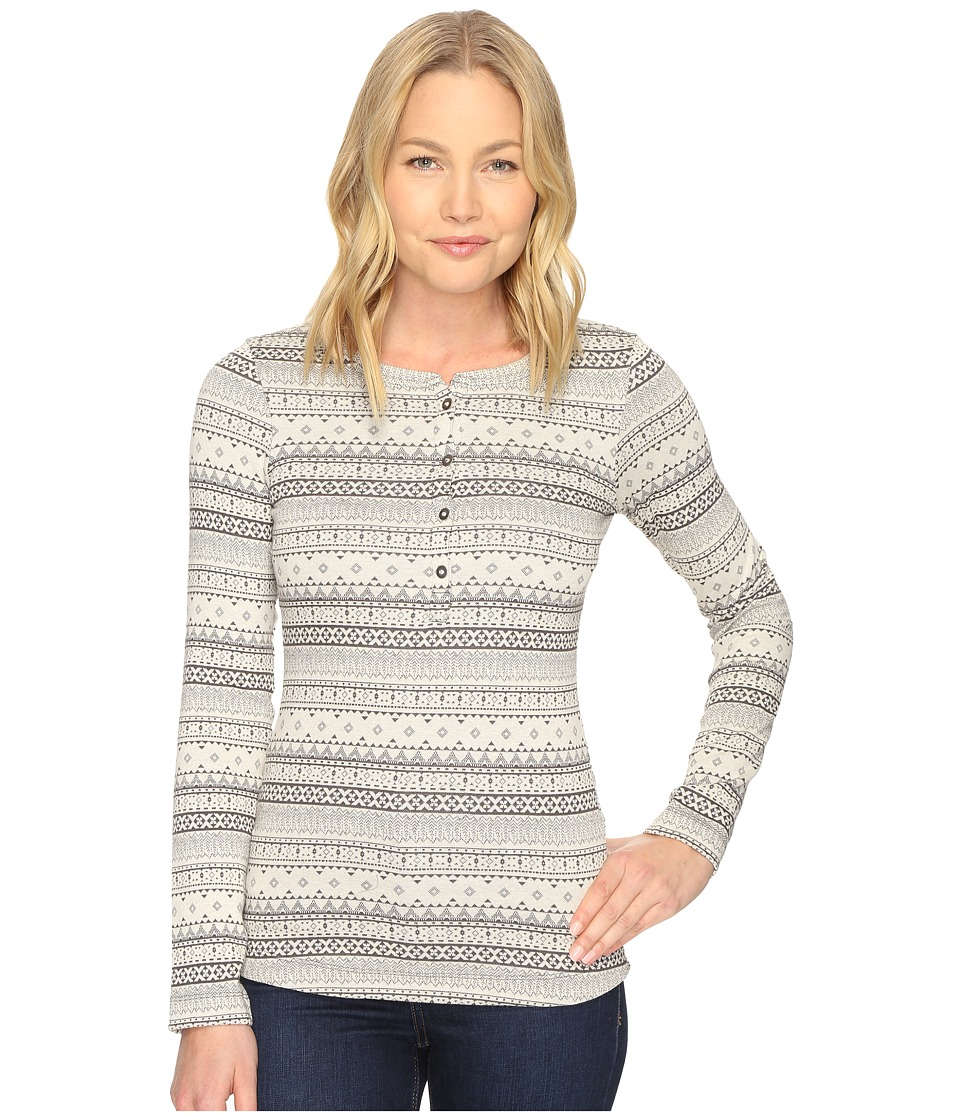 Columbia Aspen Lodge Jacquard Henley (Shark Jacquard) Women