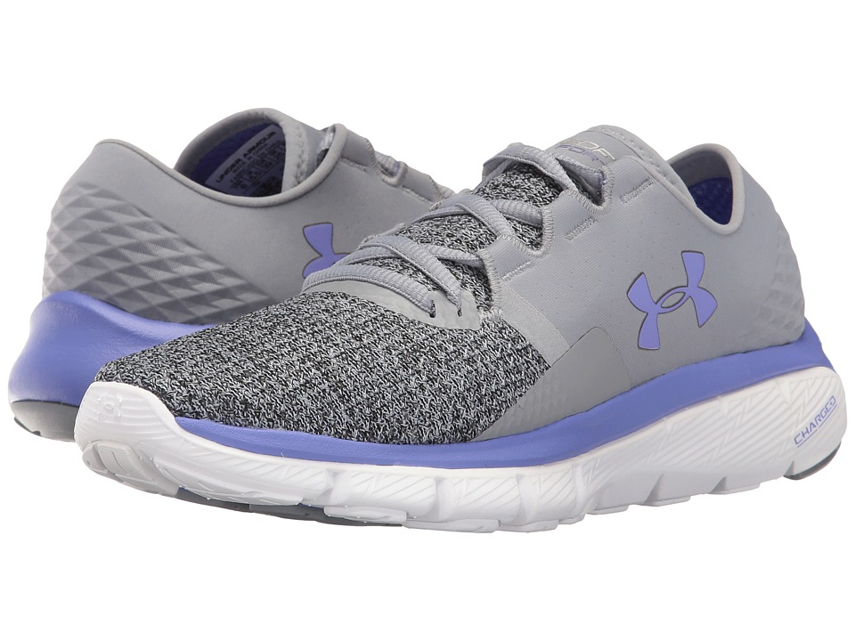 Under Armour - UA Speedform Fortis 2 TXTR (Graphite/Brilliance/Metallic Pewter) Women's Running Shoes