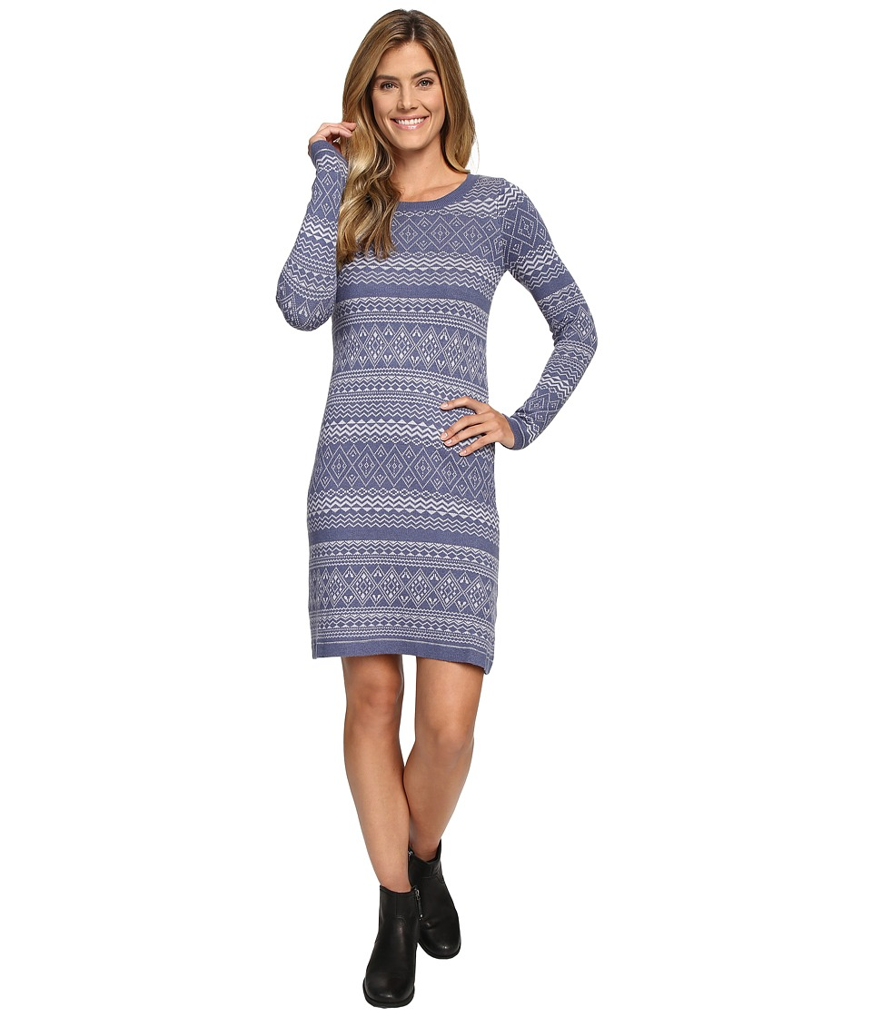 Aventura Clothing - Clara Dress (Blue Indigo/Silver Sconce) Women's Dress