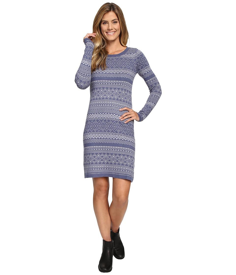 Aventura Clothing Clara Dress (Blue Indigo/Silver Sconce) Women