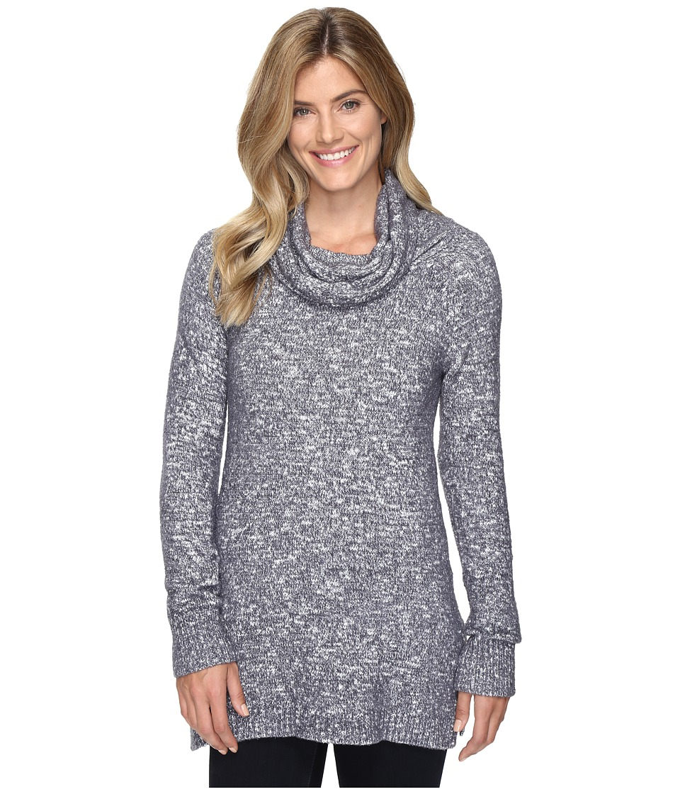 ExOfficio Lorelei Infinity Cowl Neck (Carbon Heather) Women