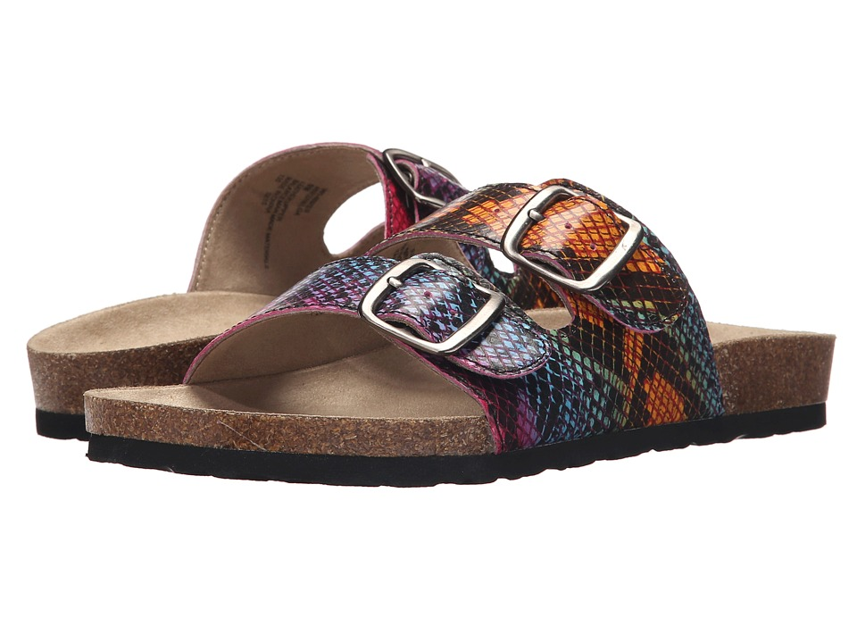 White Mountain - Helga (Rainbow) Women's Slide Shoes