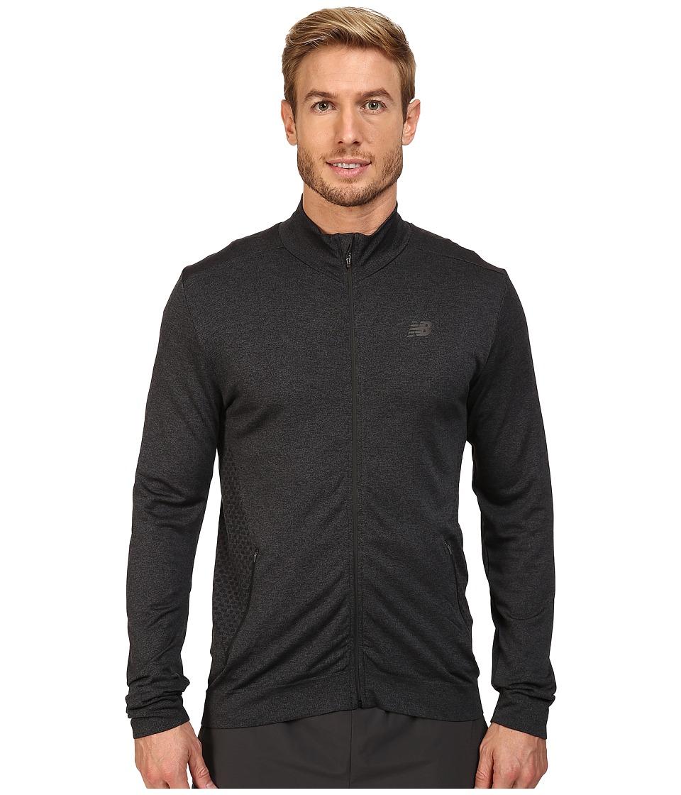New Balance - M4M Seamless Jacket (Black) Men's Coat