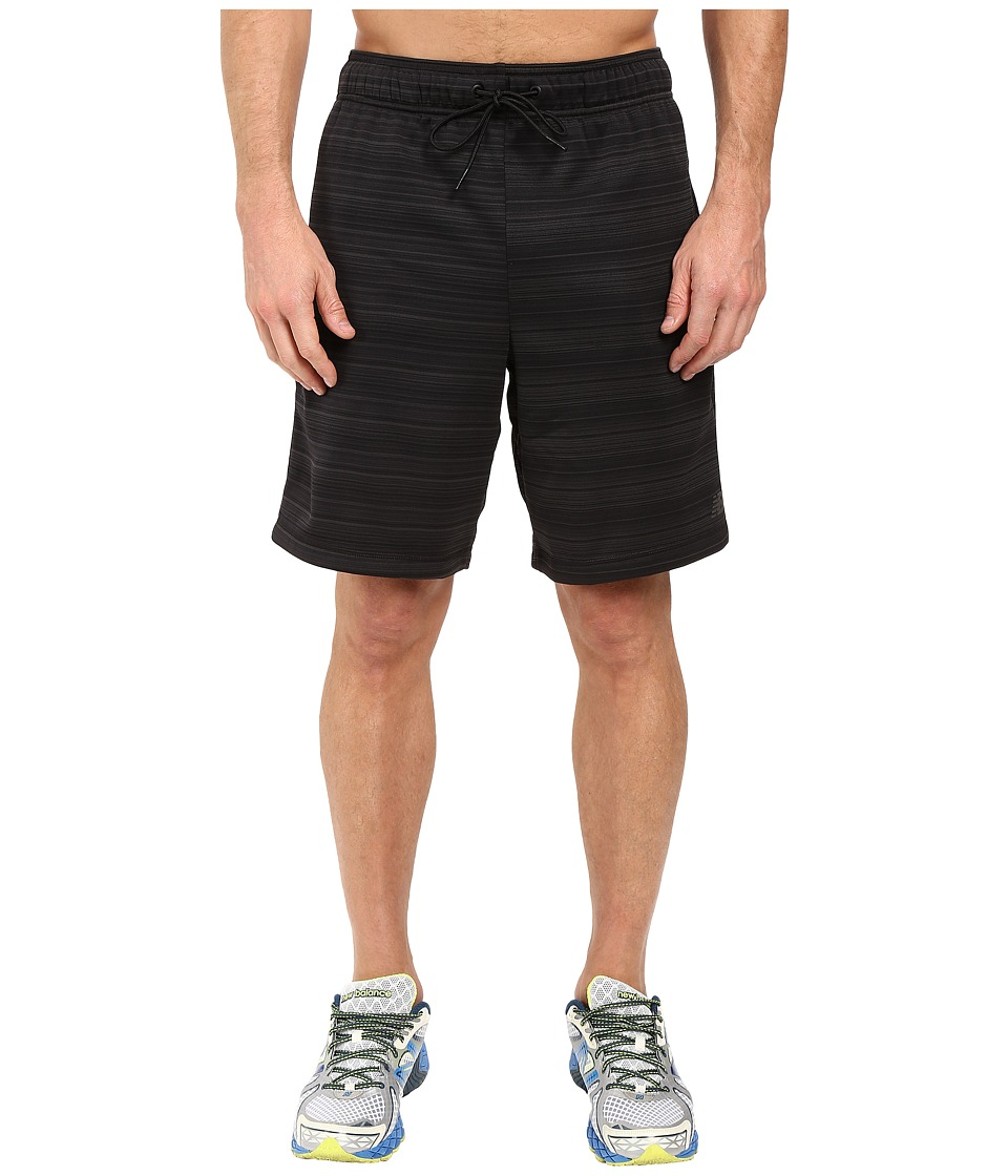 New Balance - Kairosport Shorts (Black Heather) Men's Shorts