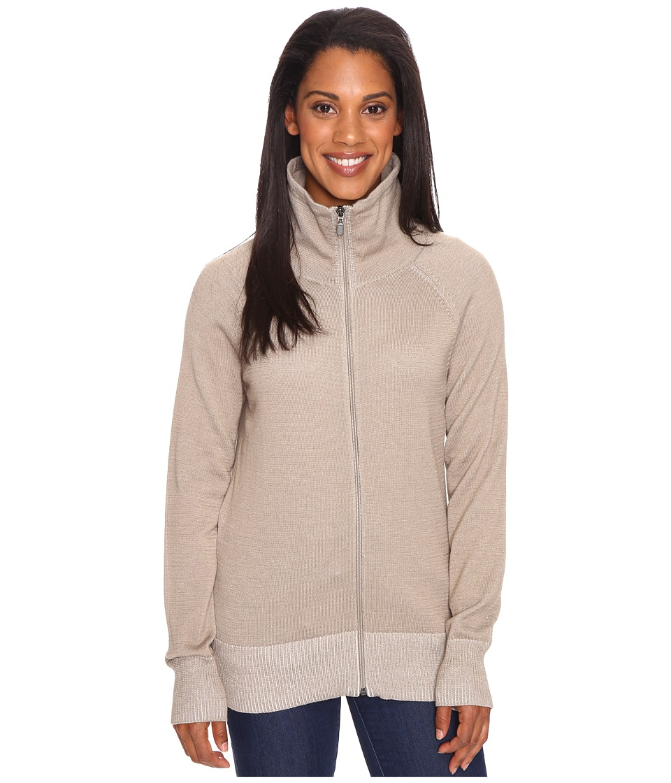 ExOfficio Milena Full Zip (Tawny Heather) Women