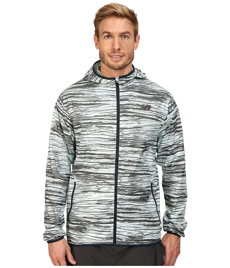 New Balance - Windcheater Jacket (Woodprint) Men's Jacket