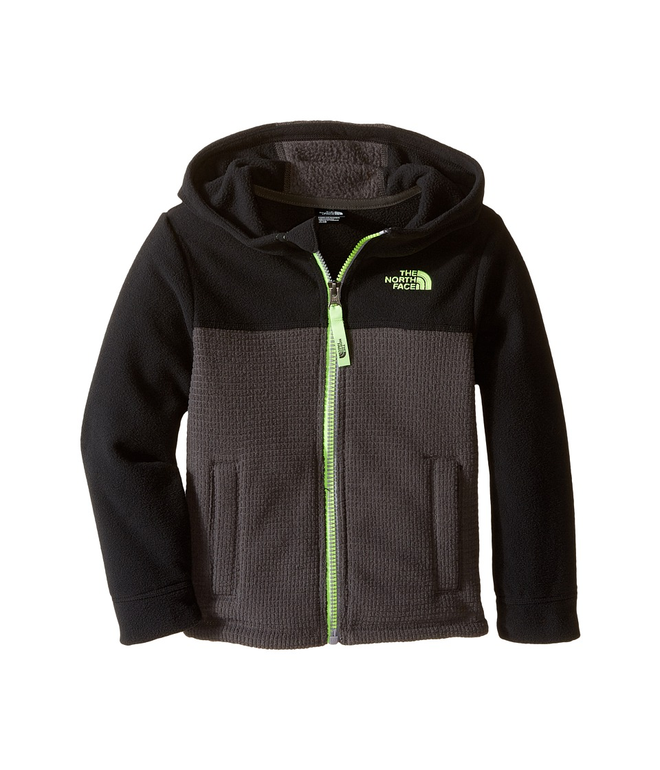 The North Face Kids - Lil' Grid Fleece Hoodie (Toddler) (TNF Black) Boy's Sweatshirt