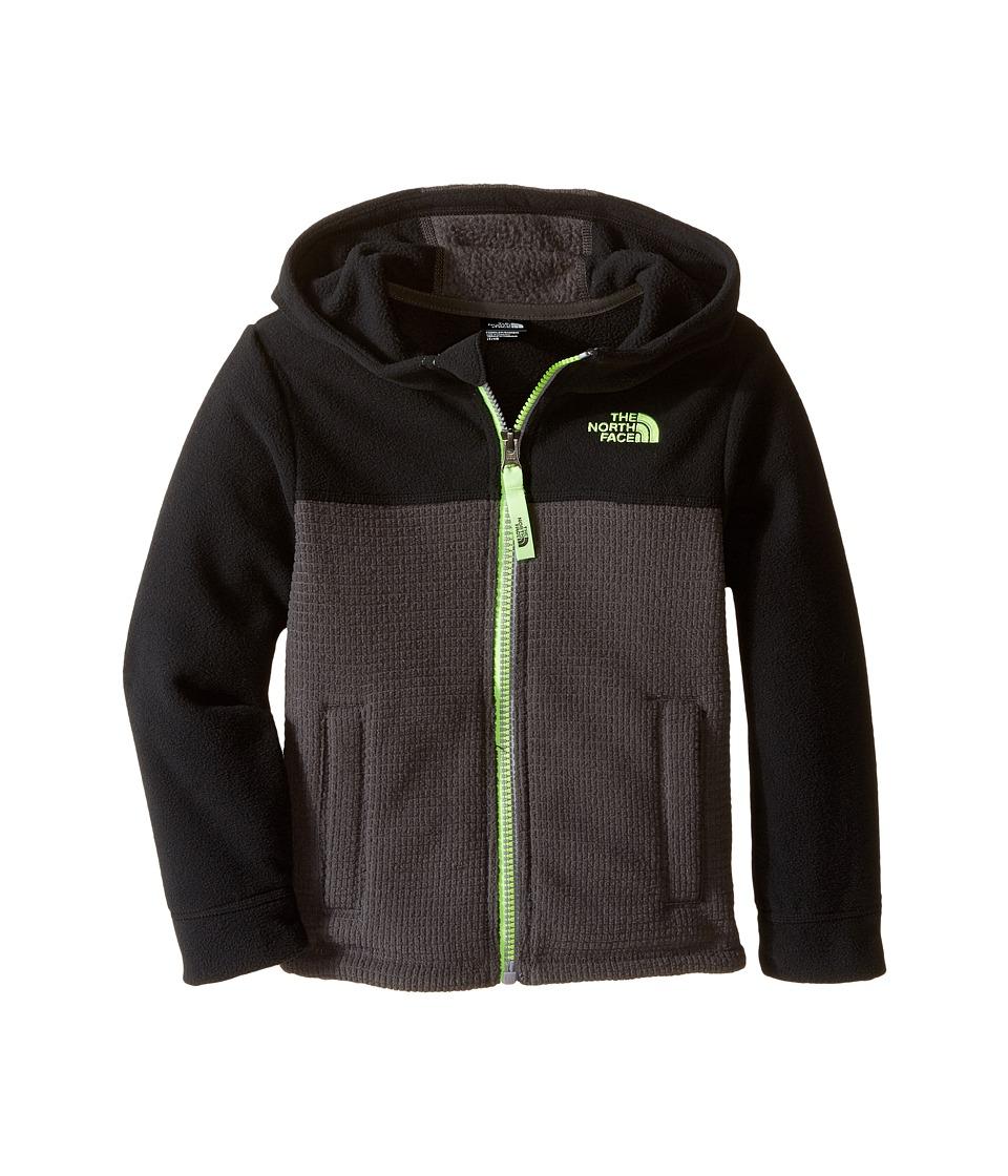 The North Face Kids - Lil' Grid Fleece Hoodie (Toddler) (TNF Black) Boy's Sweatshirt