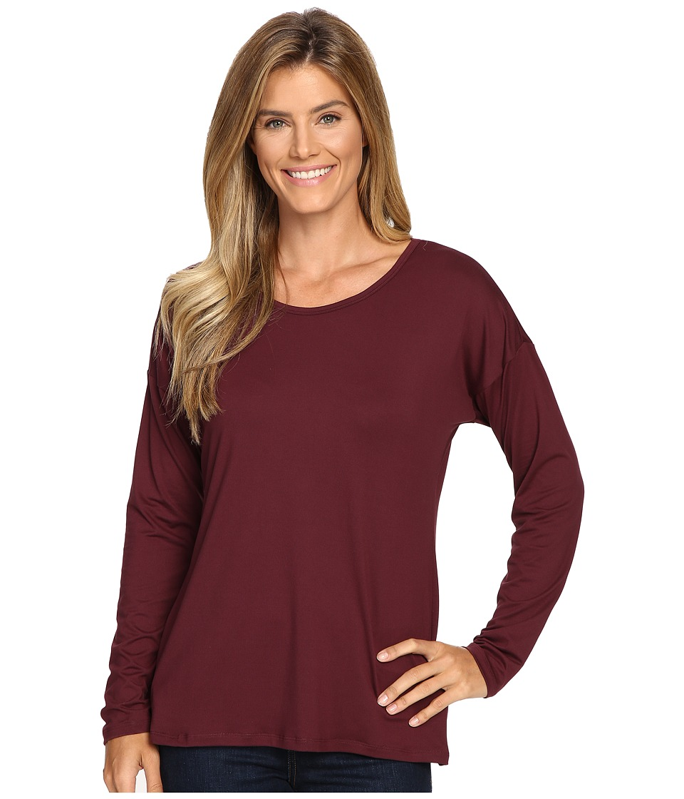 ExOfficio Wanderlux Ballet Neck (Brandy) Women