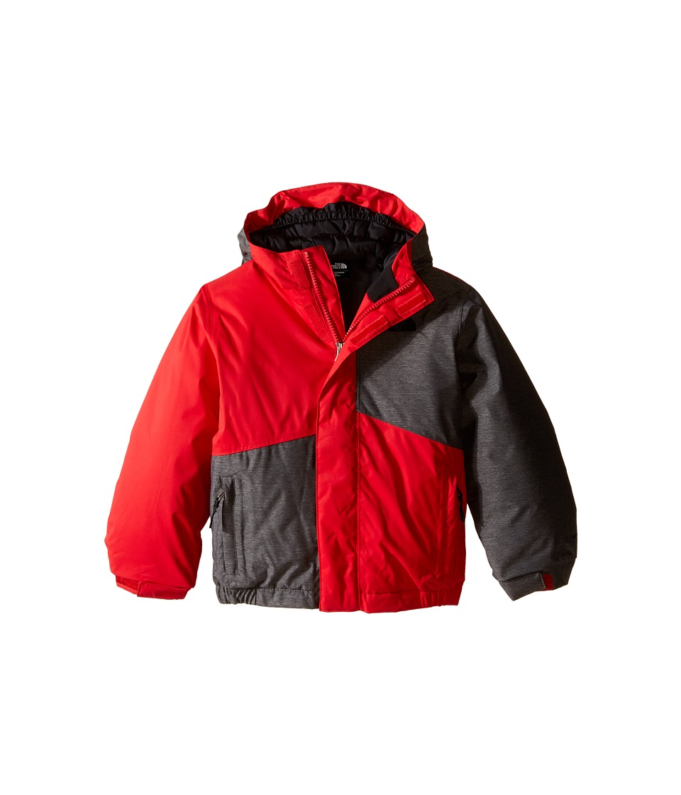 The North Face Kids - Calisto Insulated Jacket (Toddler) (TNF Medium Grey Heather) Boy's Coat