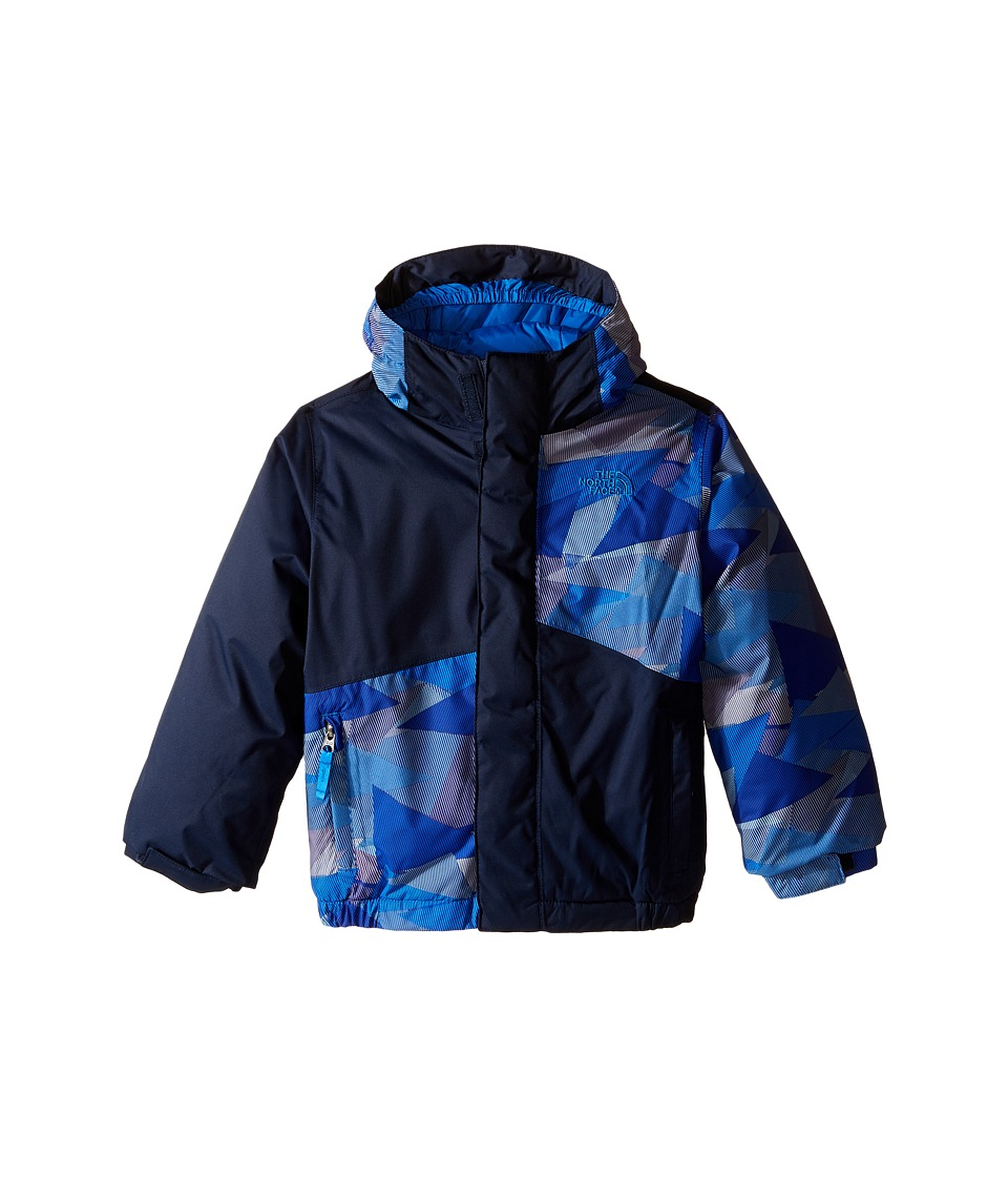 The North Face Kids - Calisto Insulated Jacket (Toddler) (Jake Blue Geo Camo) Boy's Coat