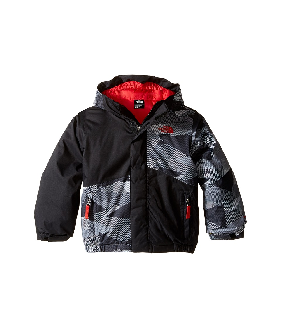 The North Face Kids - Calisto Insulated Jacket (Toddler) (TNF Black Geo Camo) Boy's Coat