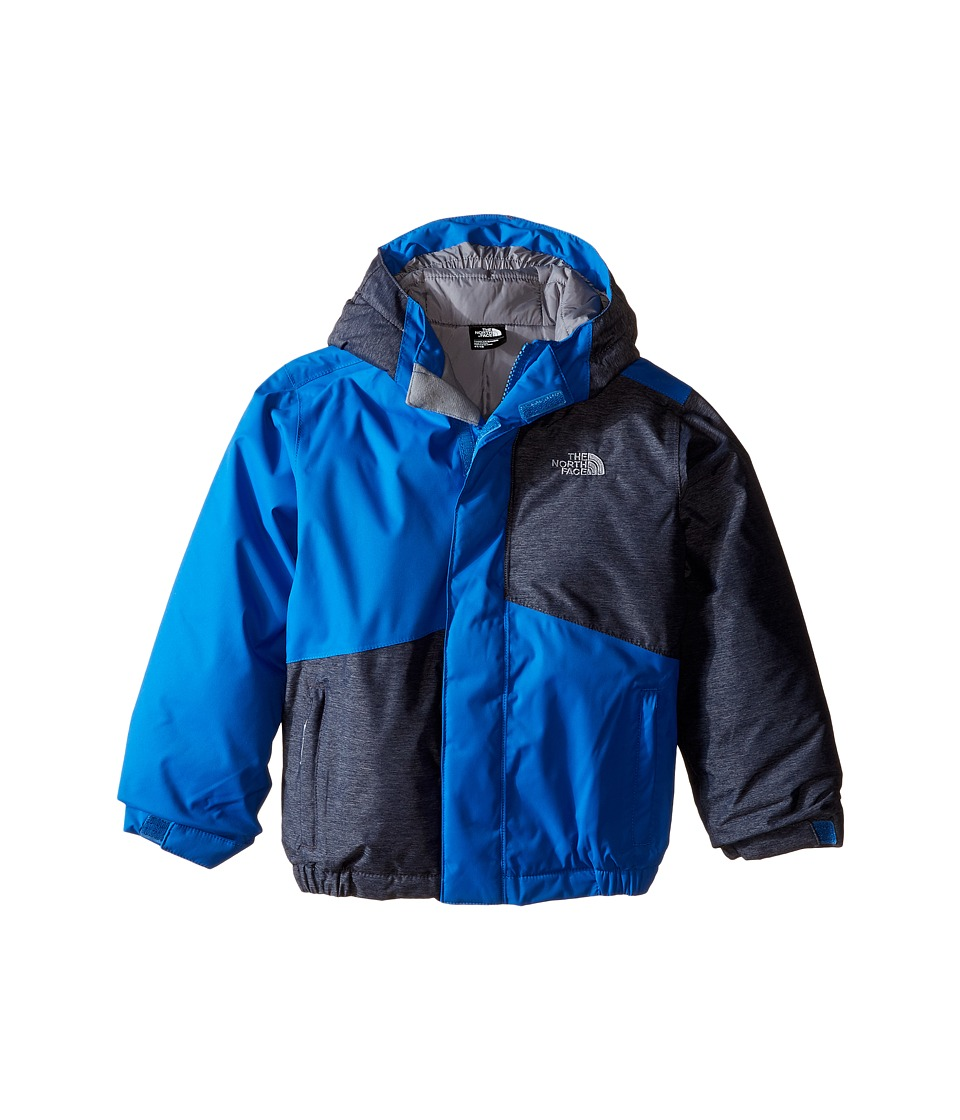 The North Face Kids - Calisto Insulated Jacket (Toddler) (Cosmic Blue Heather) Boy's Coat