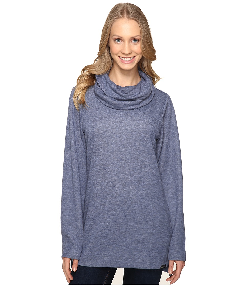 ExOfficio - Adana Cowl Tunic (Shadow) Women's Sweater