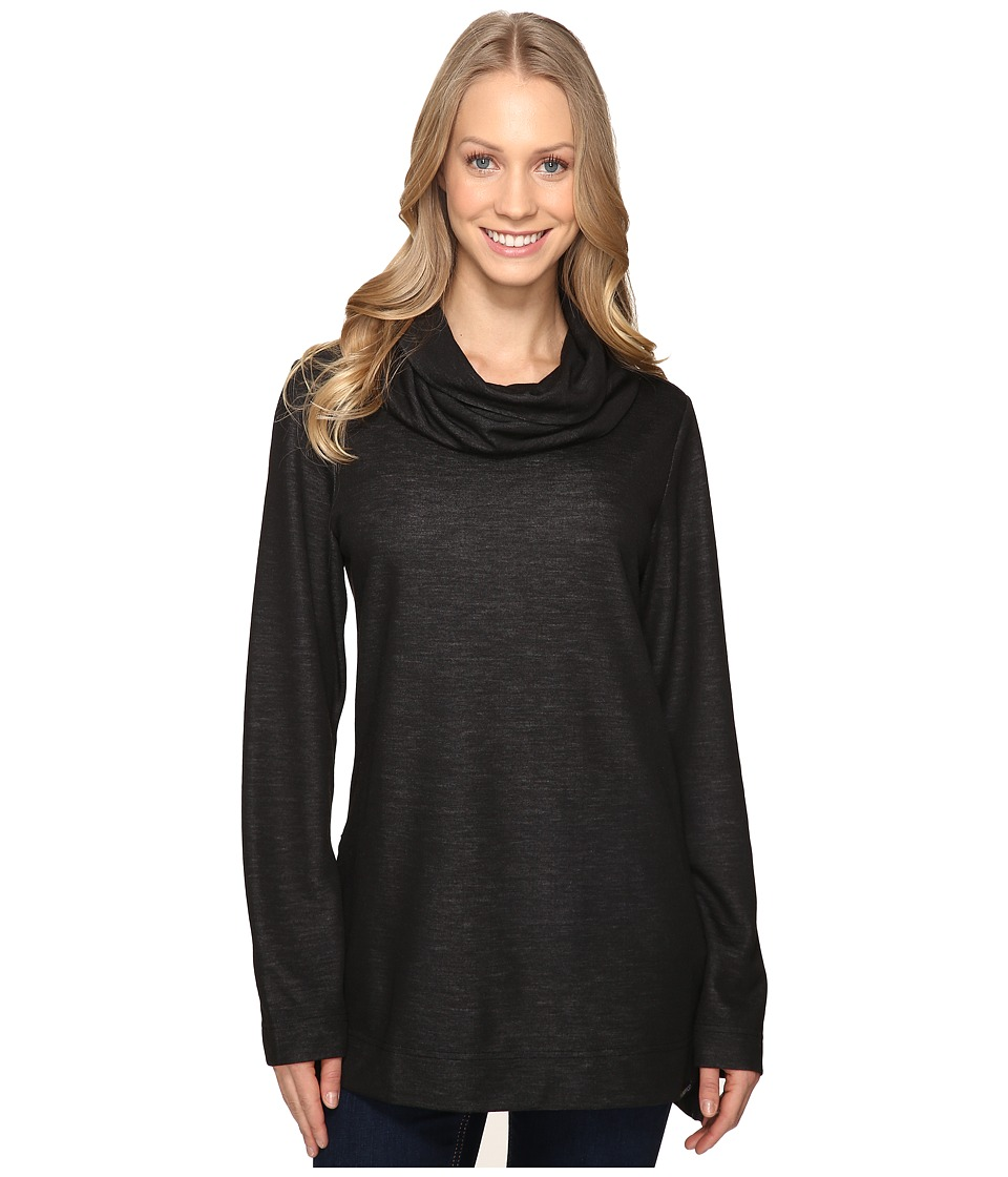 ExOfficio - Adana Cowl Tunic (Black) Women's Sweater