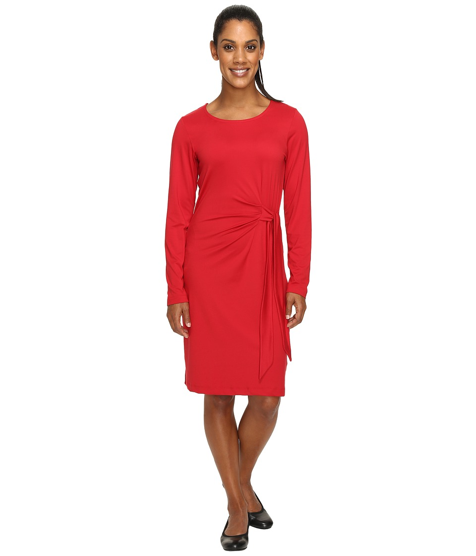 ExOfficio Wanderlux Salama Dress (Carmine) Women
