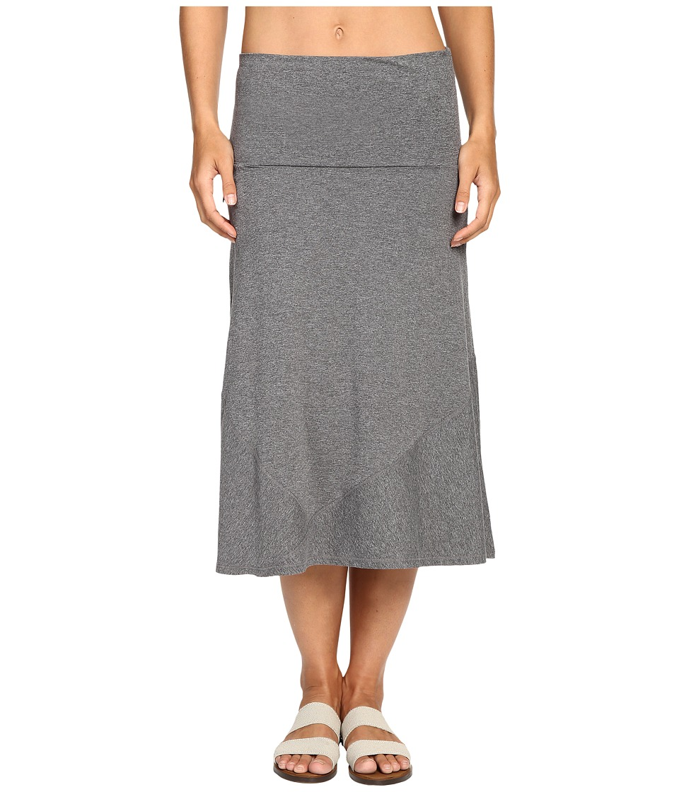 ExOfficio Wanderlux Convertible Skirt (Charcoal Heather) Women