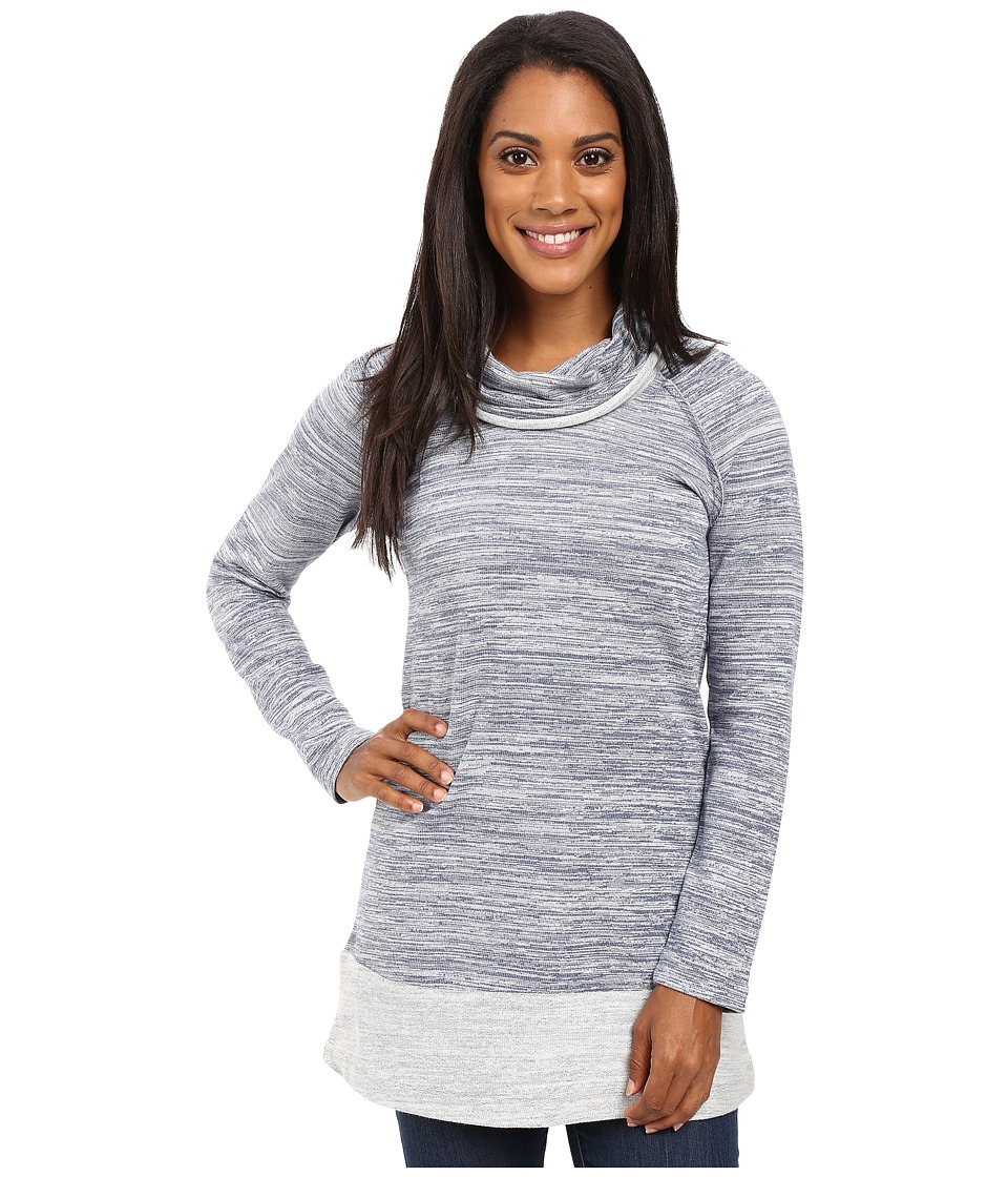 Aventura Clothing - Brooklyn Tunic (Blue Indigo) Women's Long Sleeve Pullover