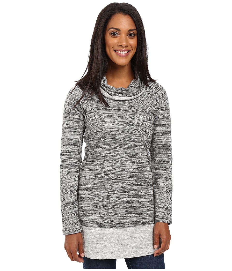 Aventura Clothing - Brooklyn Tunic (Black) Women's Long Sleeve Pullover