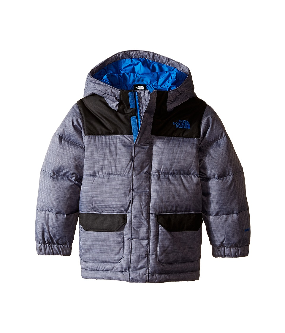 The North Face Kids - Harlan Down Parka (Toddler) (Cosmic Blue Heather) Boy's Coat