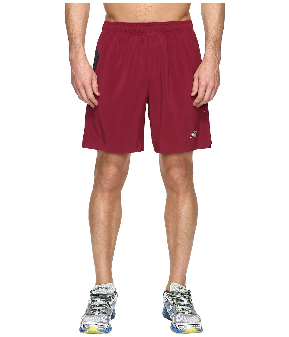 New Balance - 7 Stretch Woven Short (Sedona/Black) Men's Shorts