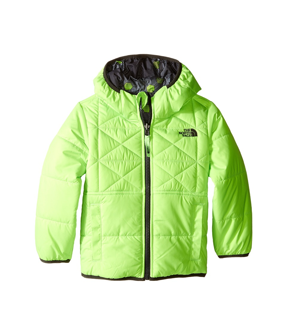 The North Face Kids - Reversible Perrito Jacket (Toddler) (Safety Green) Boy's Coat