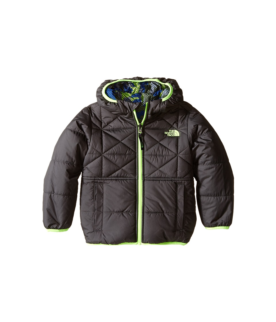 The North Face Kids - Reversible Perrito Jacket (Toddler) (Graphite Grey) Boy's Coat