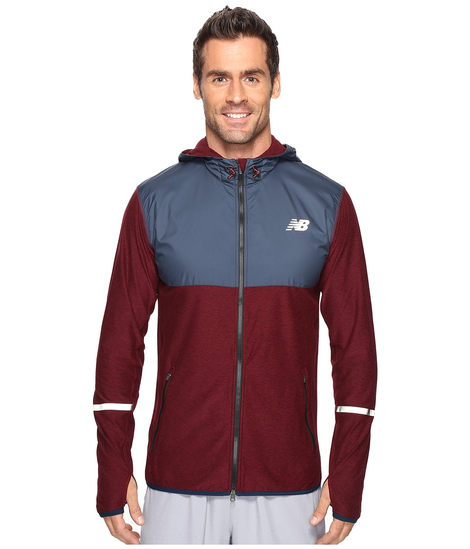 New Balance - Transit Hoodie (Sedona Heather) Men's Sweatshirt