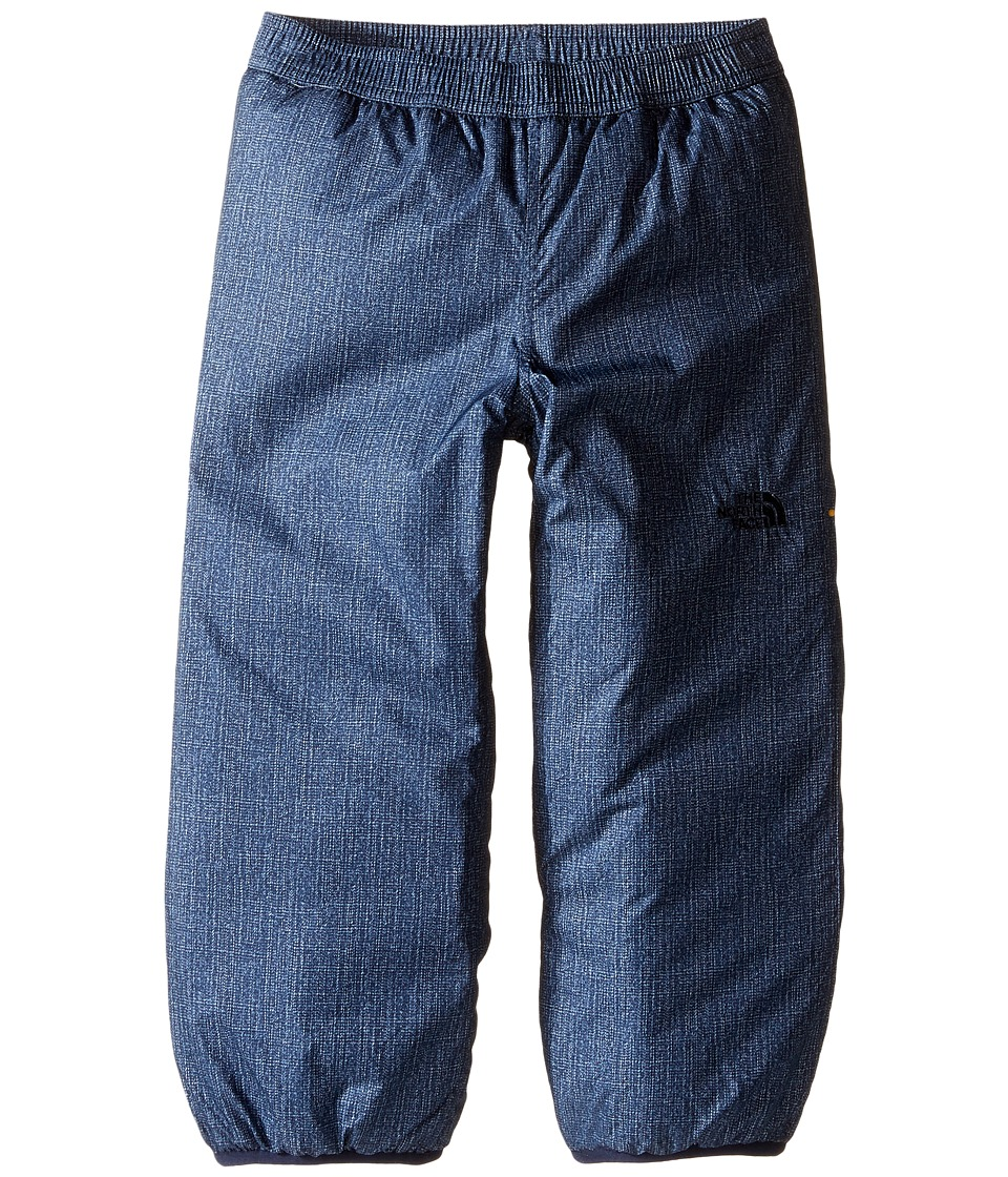 The North Face Kids - Reversible Insulated Pants (Toddler) (Cosmic Blue Denim Print) Boy's Outerwear