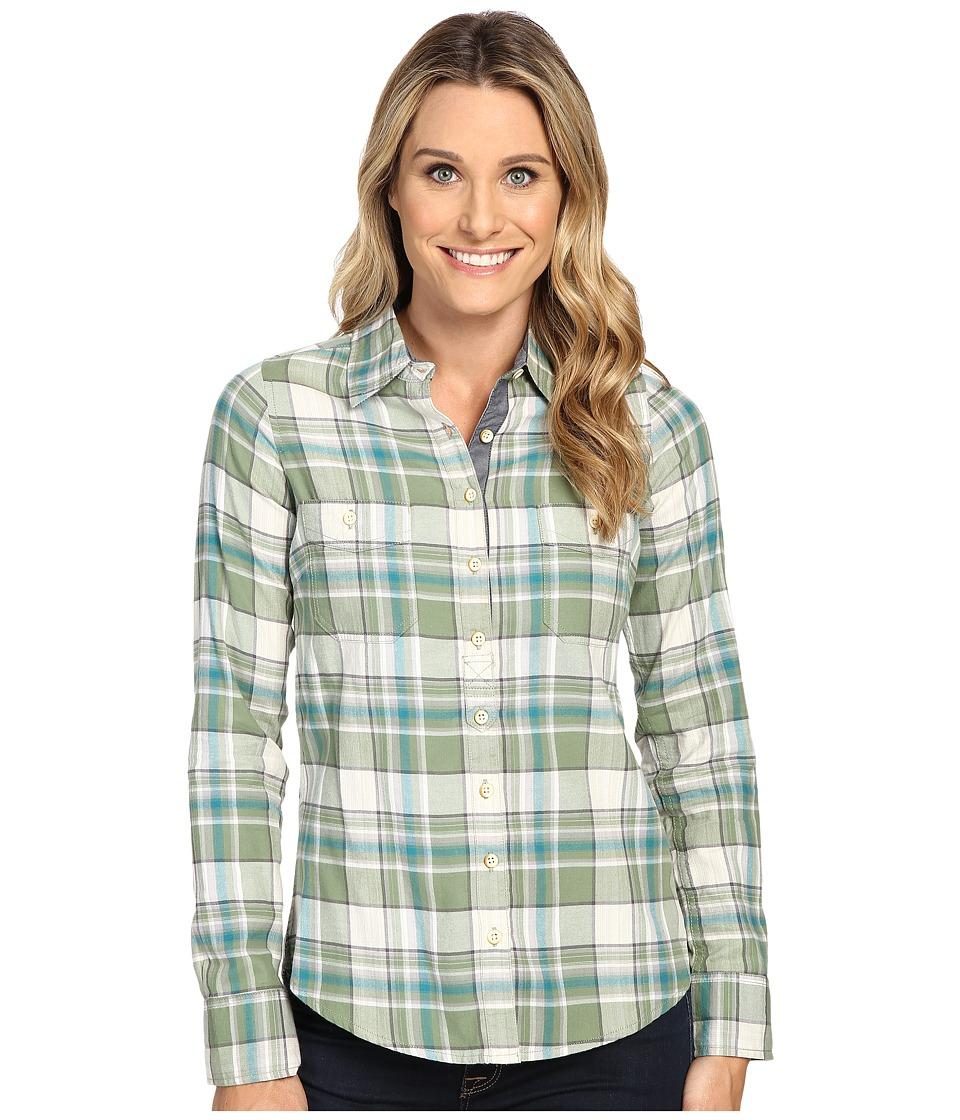 Aventura Clothing - Alyssa Long Sleeve Shirt (Loden Frost) Women's Long Sleeve Button Up