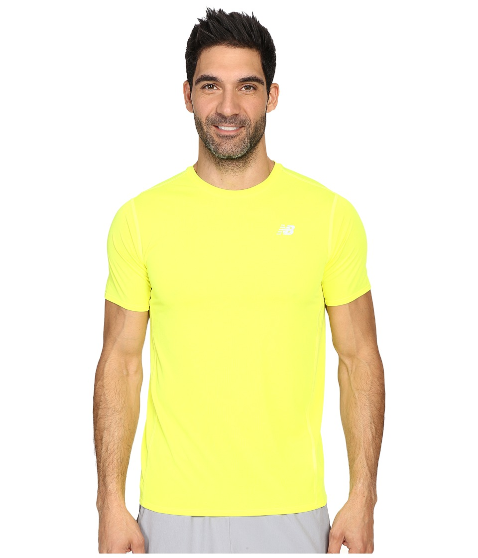 New Balance - Accelerate Short Sleeve (Firefly) Men's T Shirt