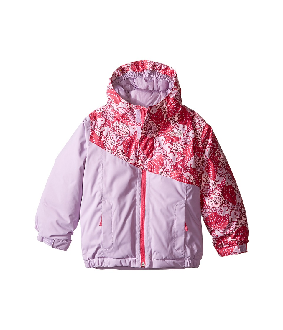 The North Face Kids - Casie Insulated Jacket (Toddler) (Cabaret Pink Butterfly Camo) Girl's Coat