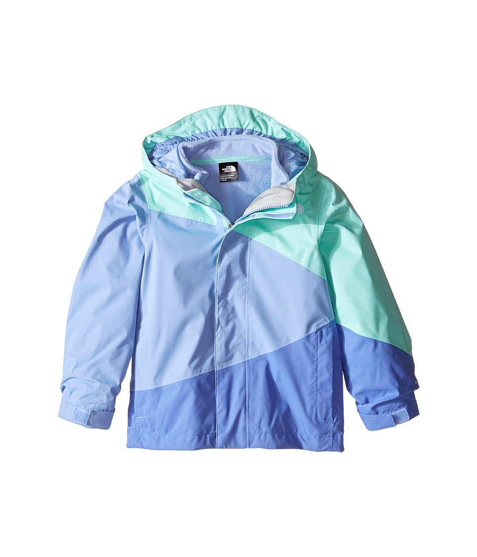The North Face Kids - Mountain View Triclimate Jacket (Toddler) (Ice Green) Girl's Coat