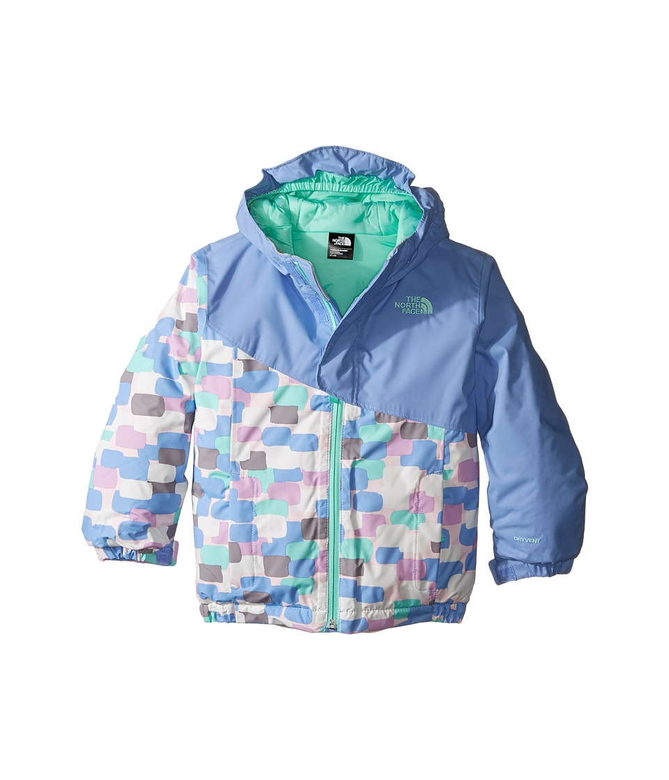 The North Face Kids - Casie Insulated Jacket (Toddler) (Grapemist Blue) Girl's Coat