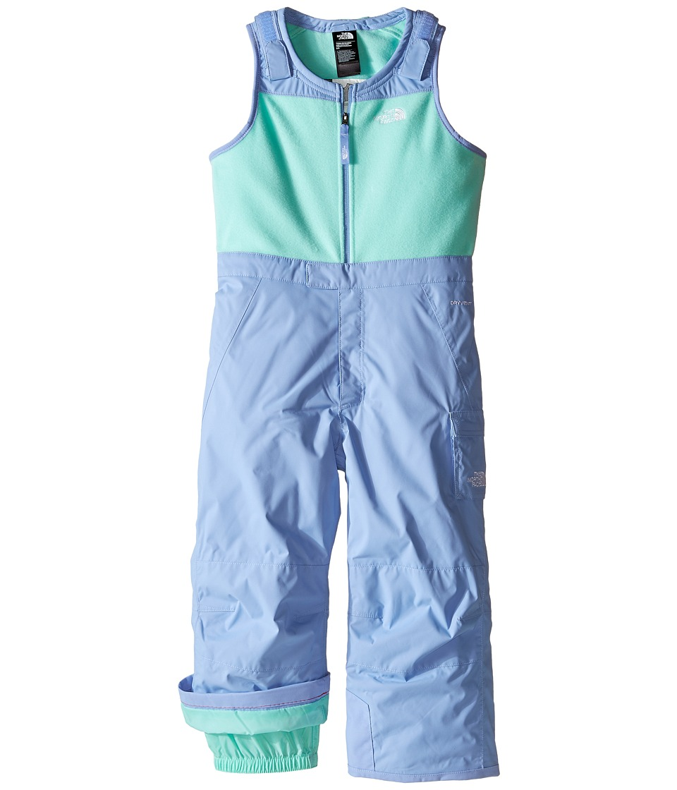 The North Face Kids - Insulated Bib (Toddler) (Grapemist Blue (Prior Season)) Girl's Snow Bibs One Piece