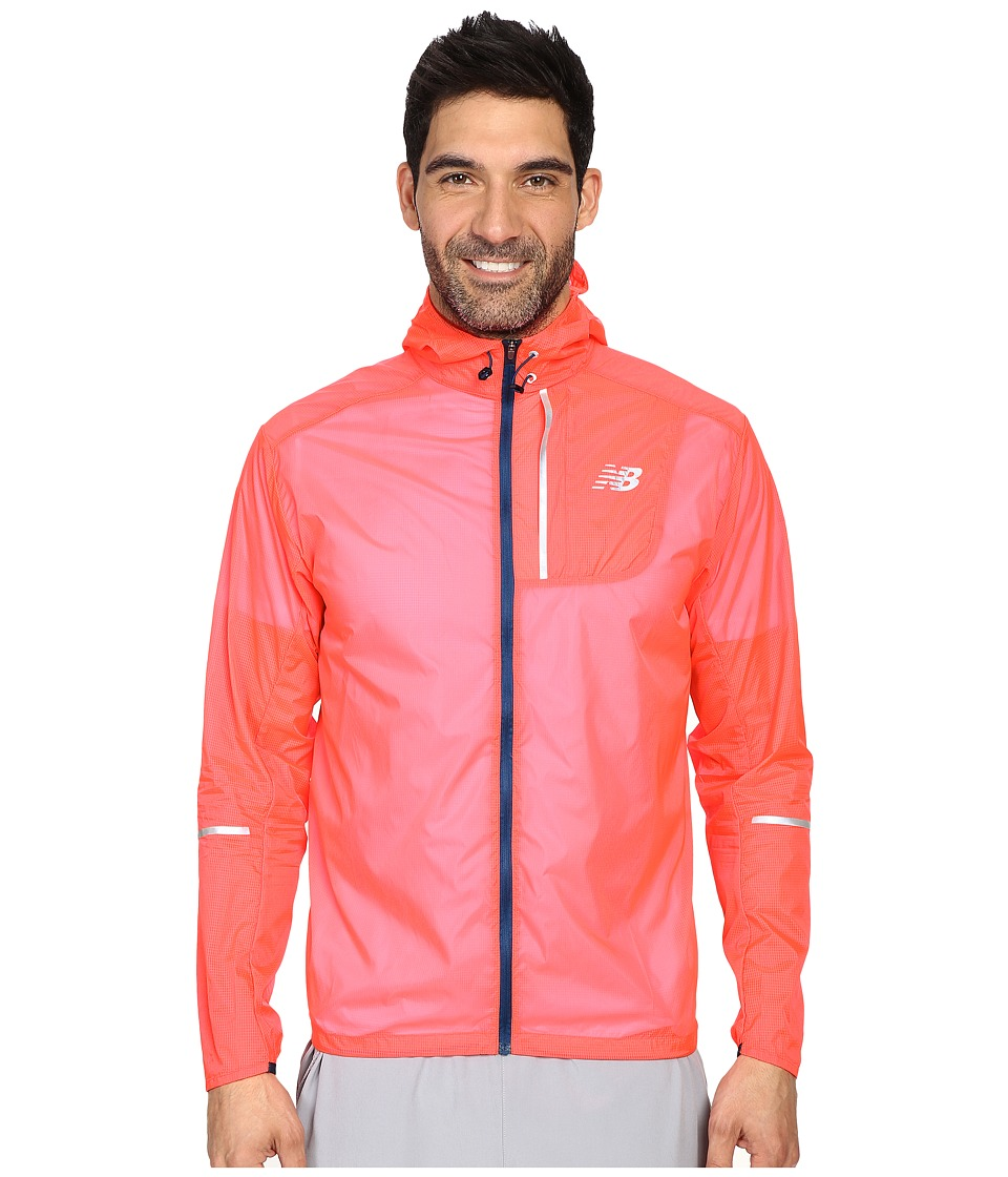 New Balance - Lite Packable Jacket (Bright Cherry) Men's Coat