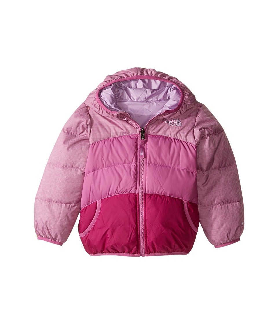 The North Face Kids - Reversible Moondoggy Jacket (Toddler) (Wisteria Purple Heather) Girl's Coat