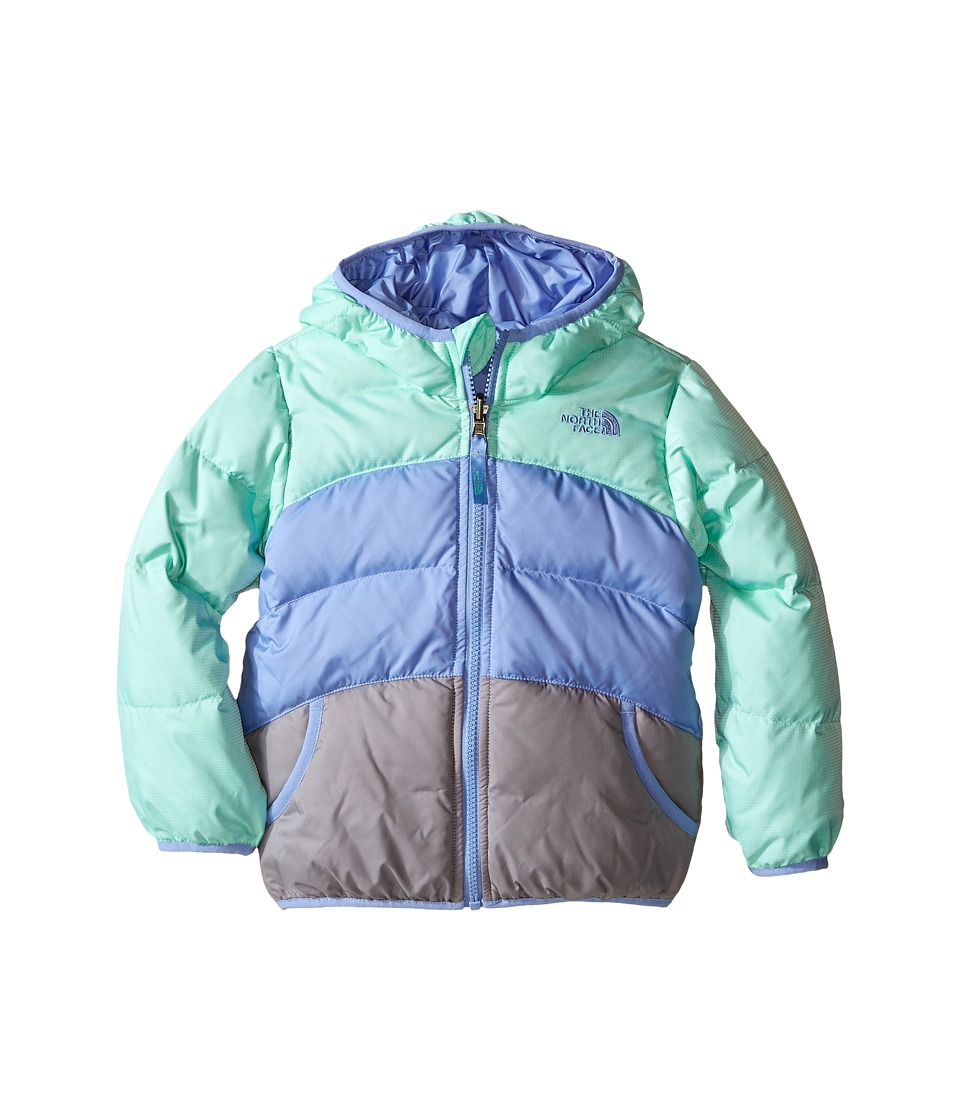 The North Face Kids - Reversible Moondoggy Jacket (Toddler) (Ice Green Heather) Girl's Coat