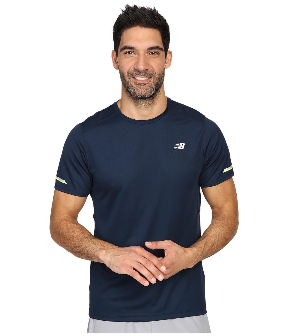 New Balance - NB Ice Short Sleeve Top (Galaxy) Men's Short Sleeve Pullover